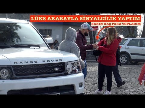Range Rover Ile Sinyalcilik Yaptım Bakın Kaç Kişi Yardım Etti - SOSYAL DENEY