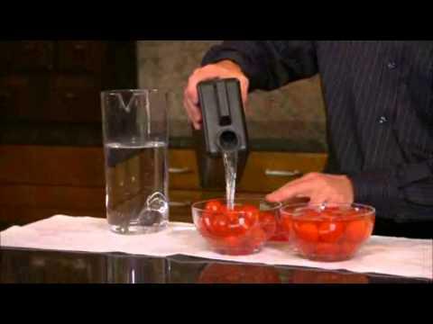Kangen Ionized Alkaline Water Demonstration