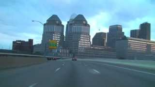 Cincinnati, OH: Freeway Tour Dusk to Dark