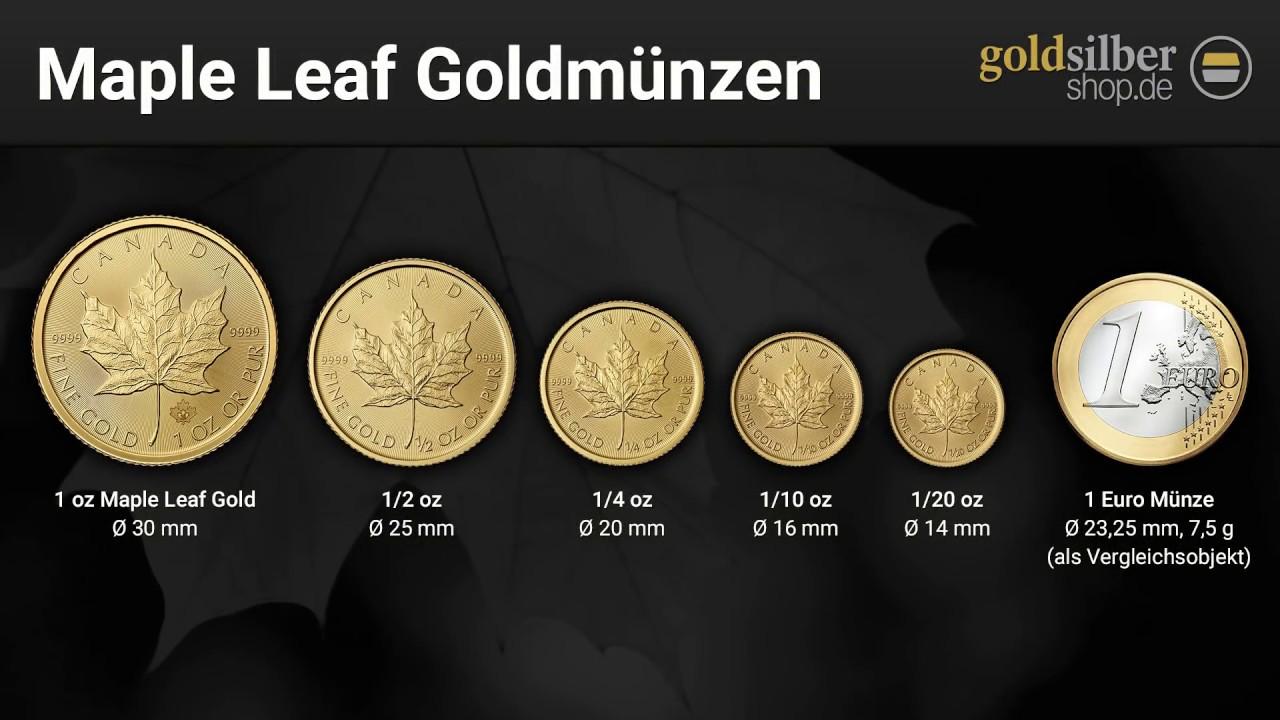 Vor Und Nachteile Der Maple Leaf Münzen Youtube