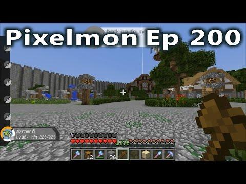 Minecraft - Pixelmon Ep. 200 - Going to...
