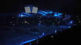 Лазерное шоу. Дворец спорта. Киев