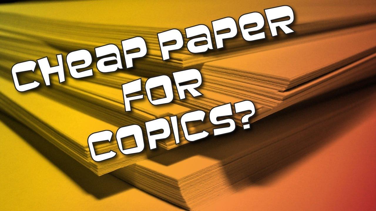 Cheap paper
