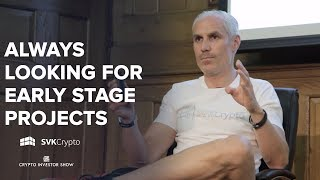 Always looking for early stage projects | SVK Crypto at the Crypto Investor Show