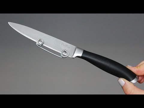 видео: 4 идеи с ножом/4 ideas of usings a knife