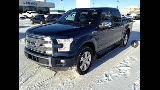 Used 2016 Ford F-150 Platinum with No Accidents