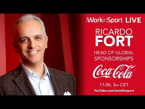 Leading Sports Sponsorship at a global brand. LIVE with Ricardo Fort, Head of Sponsorship at Coke.