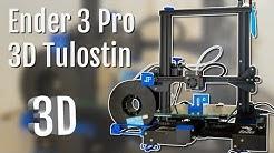 OSTIN 3D TULOSTIMEN! - Ender 3 pro kasaus & esittely