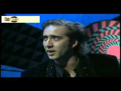 Nicholas Cage Interview 1990 The Word