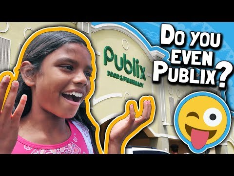 """DO YOU EVEN PUBLIX? // Shopping For Viral """"Baby Gender Reveal Party"""" Vlog // Our Lives Are Changing!"""
