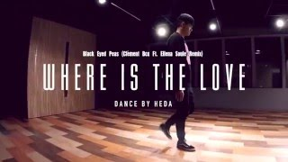 Gambar cover HeDa   Black Eyed Peas - Where Is The Love (Remix)