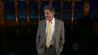 Late Late Show with Craig Ferguson 11/14/2011 Poppy Montgomery, Charlie Higson