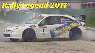 Rally Legend San Marino 2017 - Special Stage The Legend - Day 3 - Donuts, powerslide, Jump & Flames