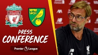 Jürgen Klopp's pre-match press conference | Norwich