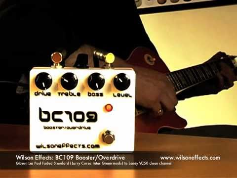 Wilson Effects: BC109 Boost/Overdrive (no talking!)