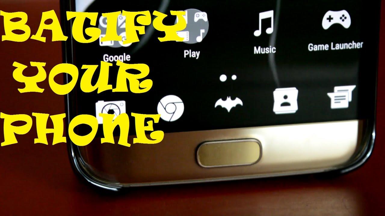Google themes batman - Batman Theme For Any Android Phone Tutorial