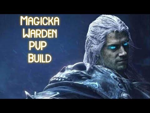 ESO Magicka Warden PvP Build/ Waking Flame/ Мана Варден (Хранитель) ПвП билд/Пробуждающееся Пламя |