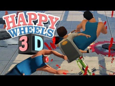 HAPPY WHEELS EN 3D?!? | Guts and Glory en Español (JUEGO SANGRIENTO Y VIOLENTO)