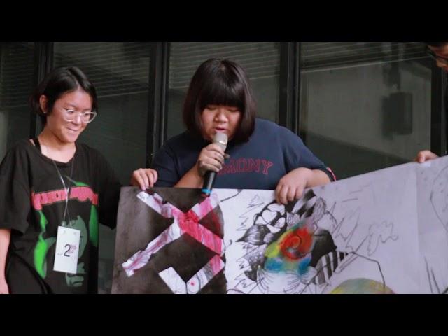 「不當人類了」實踐大學媒體傳達設計學系2019年高中生體驗營