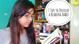 7 Tips To Become A Reader For Beginners | Develop a Reading Habit