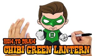How to Draw Green Lantern | Justice League
