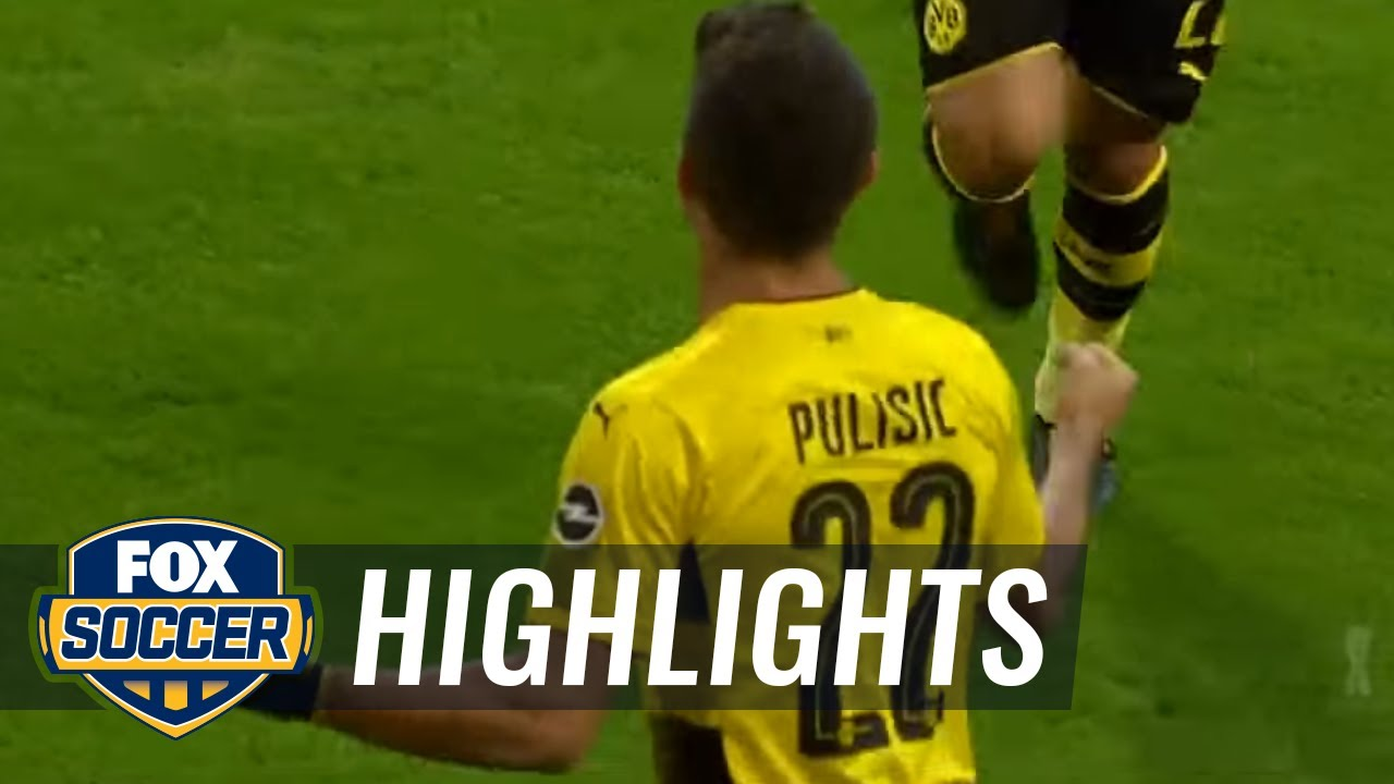 Download Christian Pulisic gets the opening goal against Bayern Munich | 2017 German Super Cup Highlights