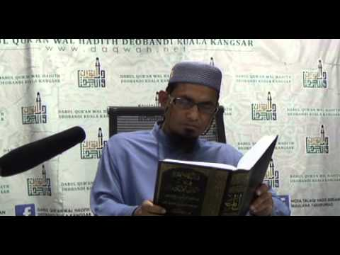 Maulana Fakhrurrazi | Pengajian Hadith Sunan Abu Daud | 25.03.2016