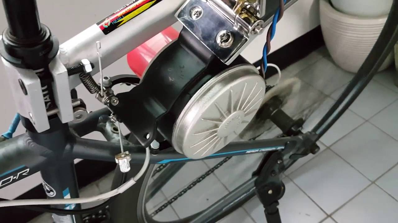 Friction Drive Ebike Diy Youtube