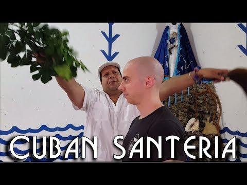 Traditional Cuban Santeria Ritual - ASMR video