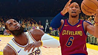 LEBRON TRIED TO STOP ME FROM BEING THE NEW KING OF CLEVELAND! TRIED TO FIGHT ME! - NBA 2K19 MyCAREER