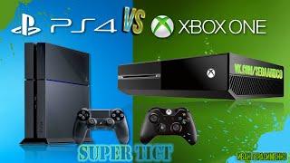 Обзор сравнение XBOX ONE VS PS4