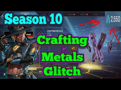 Apex legends (Season 10) Crafting Metals Glitch || *Free Skins*