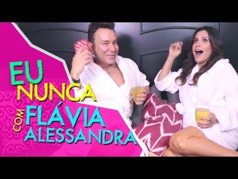 Eu Nunca com Flavia Alessandra   #HotelMazzafera