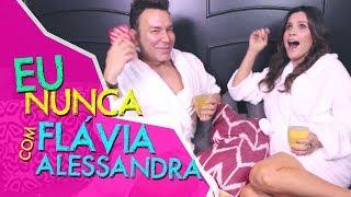 Eu Nunca com Flavia Alessandra | #HotelMazzafera