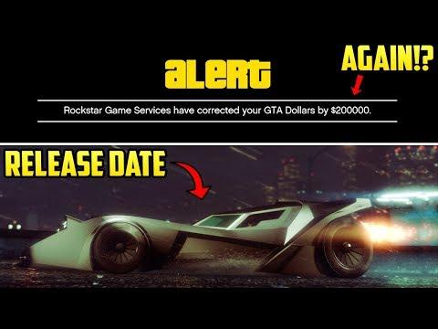 GTA Online - VIGILANTE RELEASE DATE CONFIRMED + Rockstar Giving Free Money Again Explained!