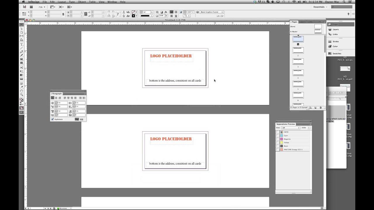 Pdf multipage import indesign
