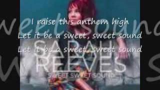 Sarah reeves sweet sweet sound lyrics
