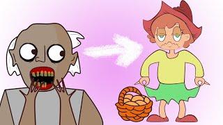 Бабушка Гренни и Красная Шапочка (анимация)