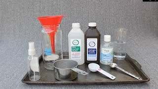 Do-it-yourself hand sanitizer formula from world health organization (who) scaled down for home use. us/metric recipes and more: click show more below due to...
