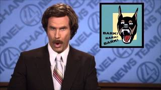 Anchorman Opening News Clip