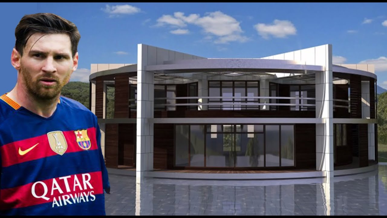 Luxury home of Messi