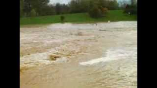 Inondation lac de Champos, 24/10/2013