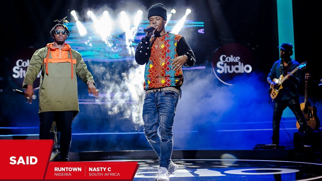 Nasty C, Runtown & Shado Chris: Said – Coke Studio Africa