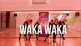 Shakira 'Waka Waka' Dance Fitness Warm Up Routine || Dance 2 Enhance Fitness