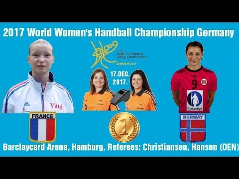 HANDBALL France Norway 2017 World Women's Handball Championship Germany ГАНДБОЛ Awardceremony
