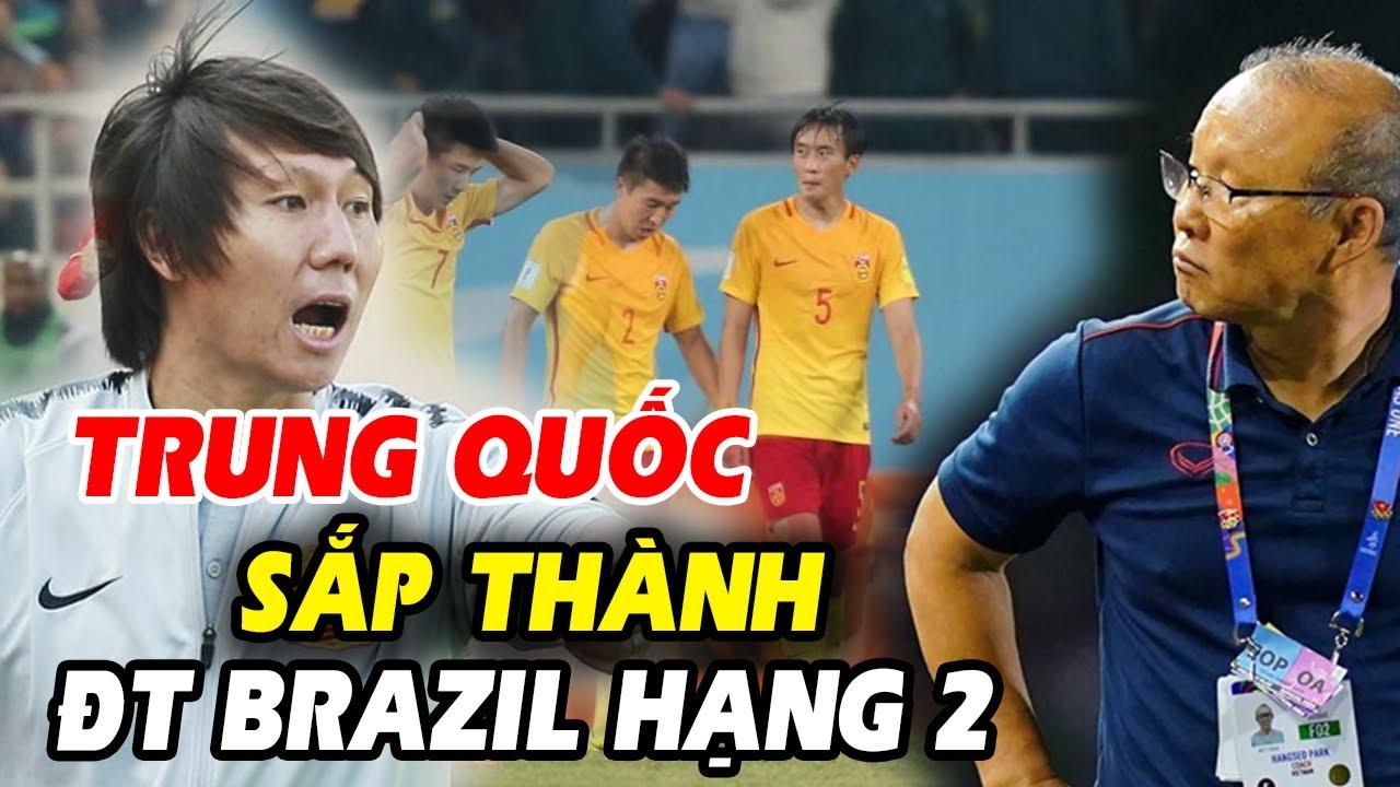 🔥Trung Quốc sắm hàng loạt cầu thủ Brazil đấu Việt Nam, CĐV dậy sóng đòi giải tán LĐBĐ