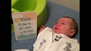 Elimination Communication with a Newborn - 2 Week Update