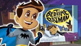 Bedtime For Batman | Reading Month: Book Trailer | DC Kids
