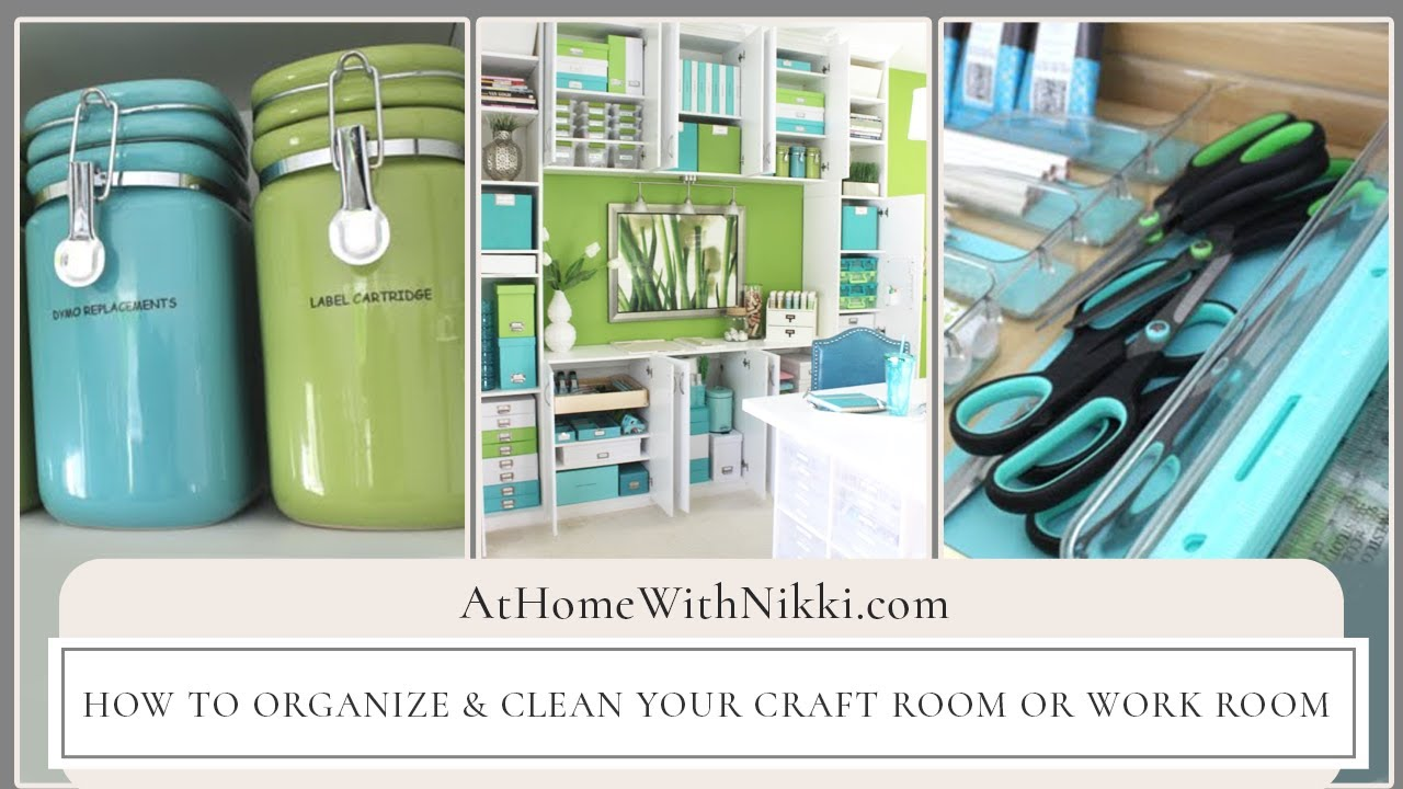 Craft rooms on a budget - Diy Room And Storage Ideas How To Organize U0026 Clean Your Craft Room Or Work Room