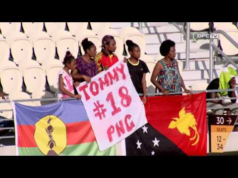 2016 OFC NATIONS CUP | Papua New Guinea vs New Caledonia